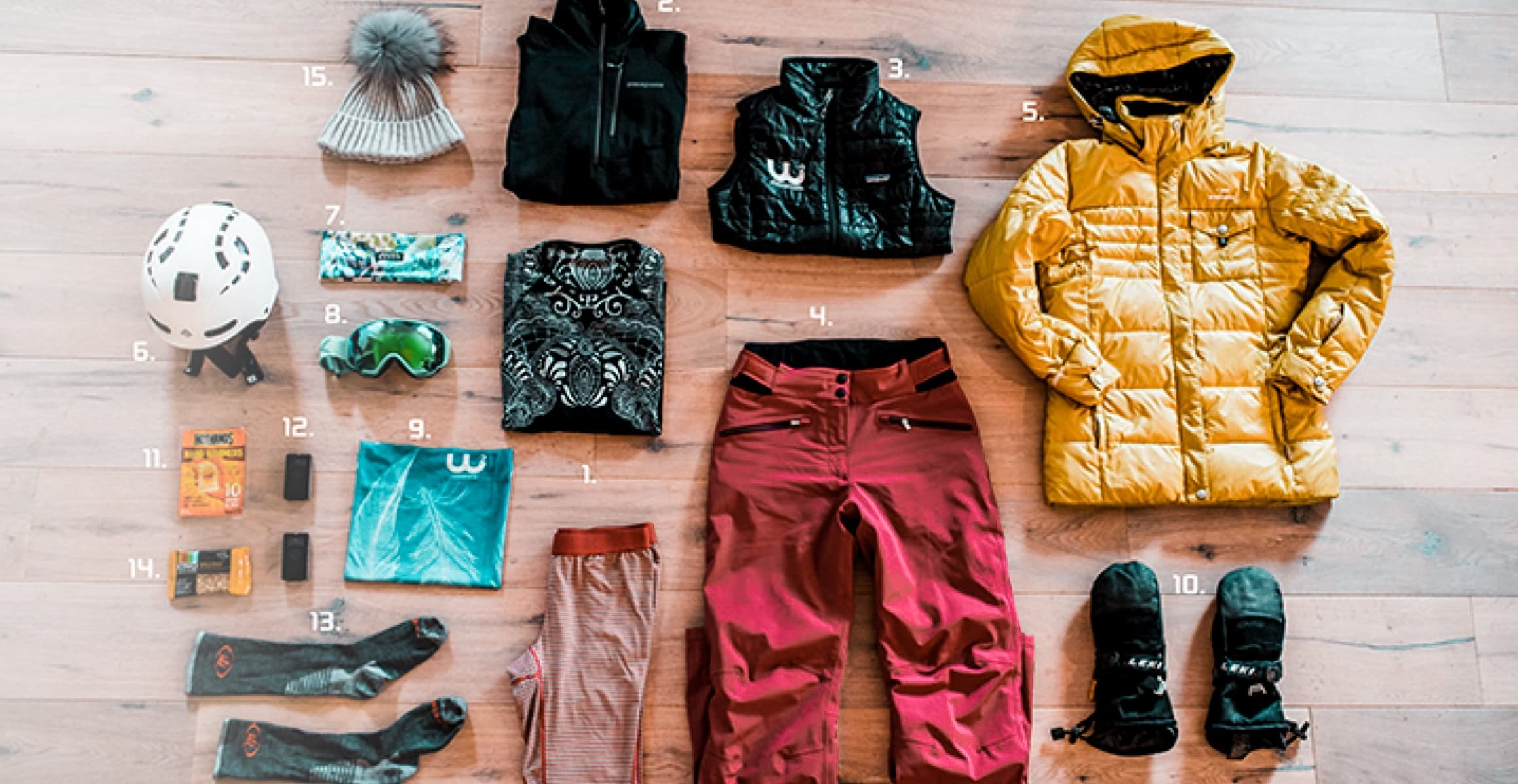 HOW TO DRESS FOR COLD WHEATHER SKIING